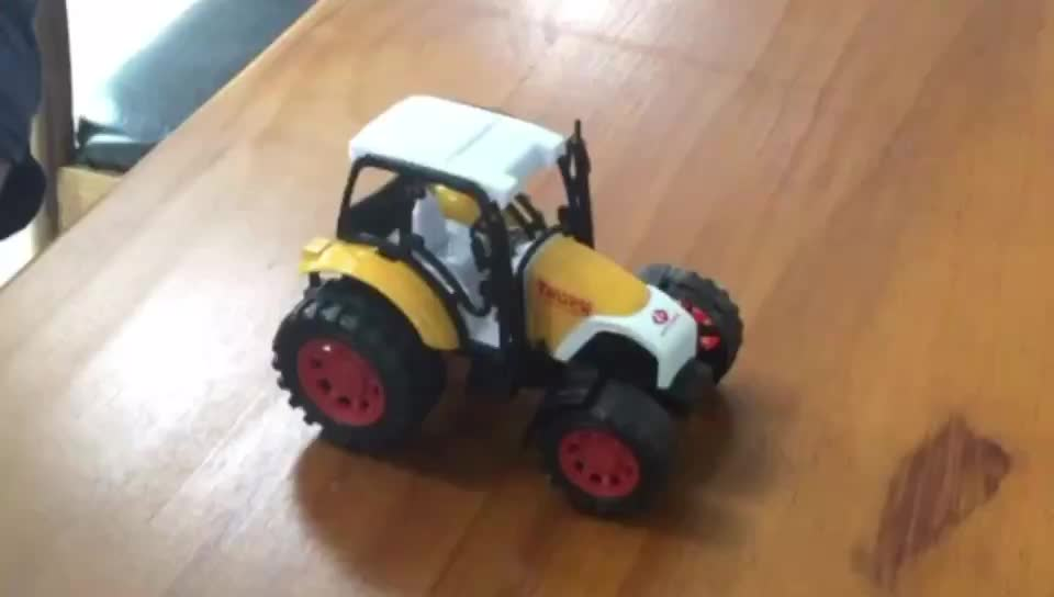 children lovely wholesale good quality plastic truck farm toys with lowest price