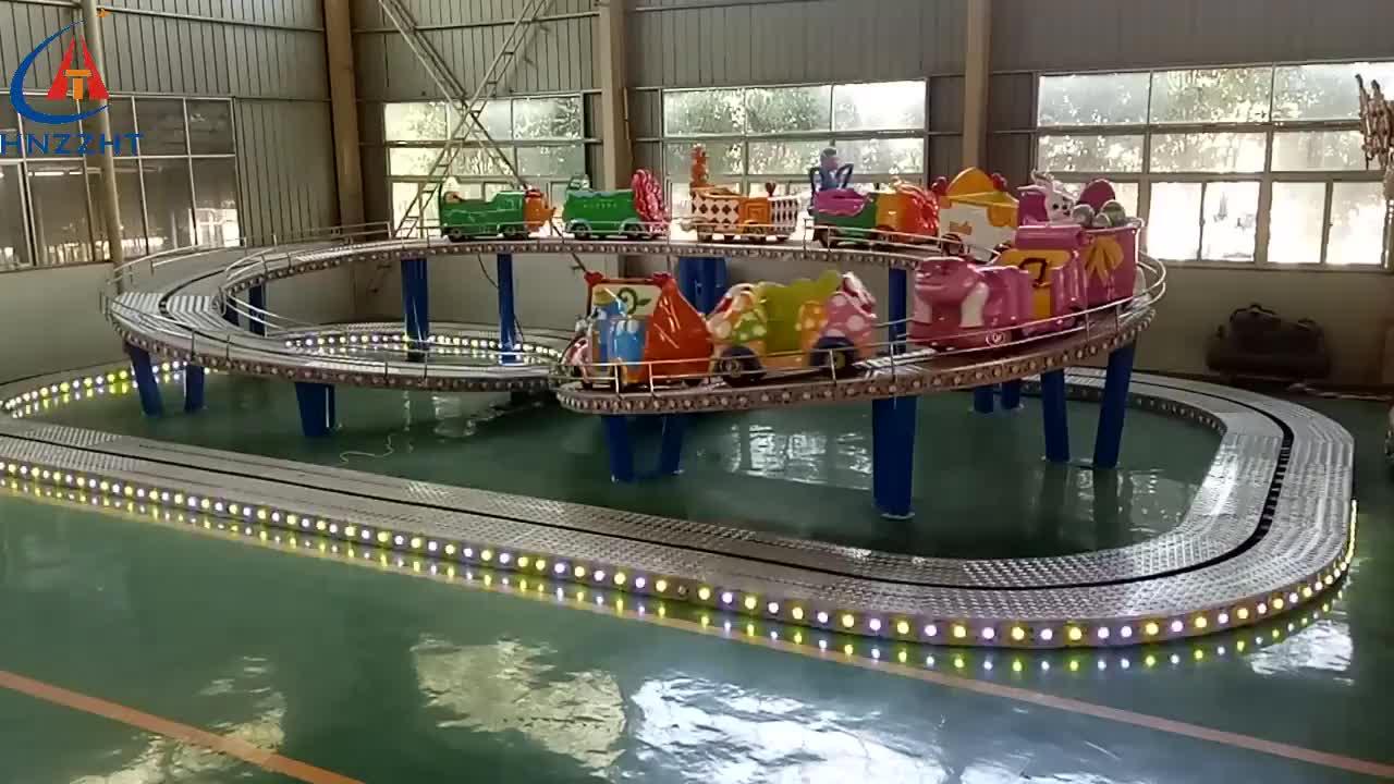 Theme Park Funfair Ride Roller Coaster Car Mini Shuttle