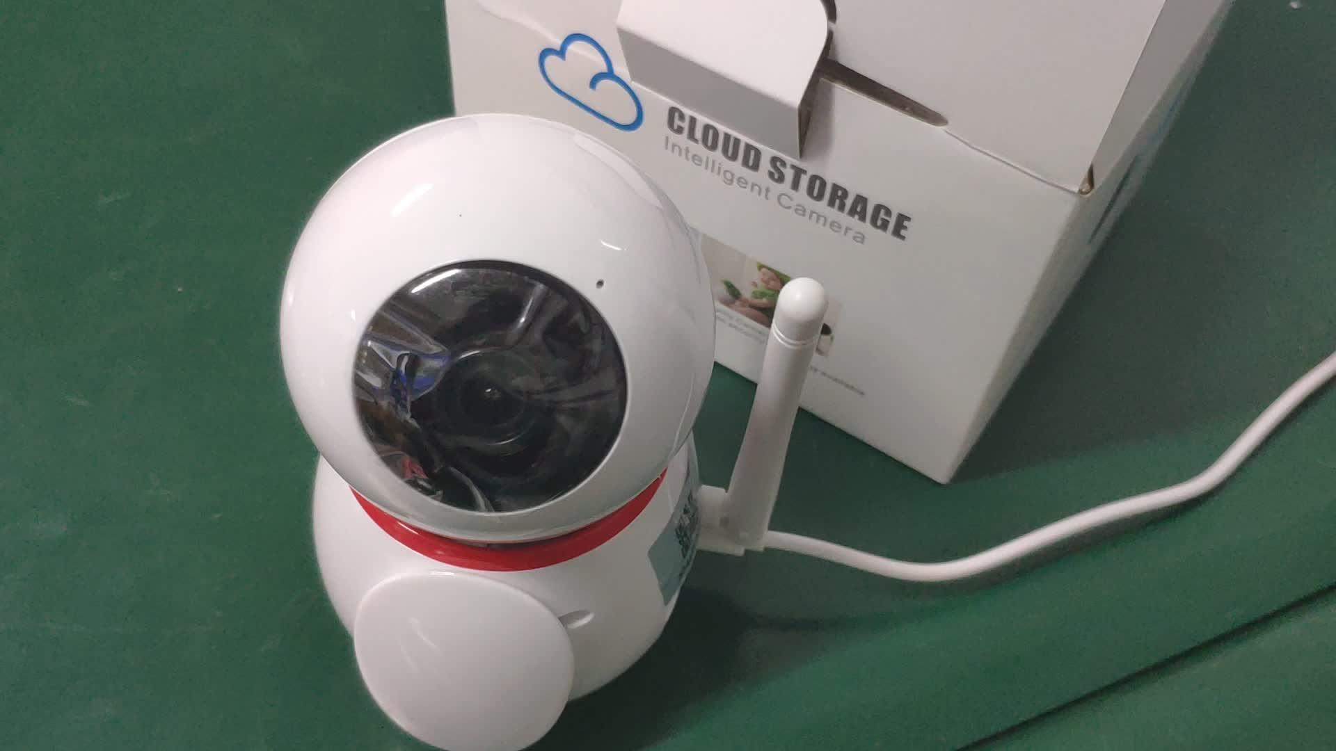 السعر المنخفض 360 دوران 1080 p السيارات تتبع كاميرا wifi ip كاميرا اتجاهين الصوت للمنزل