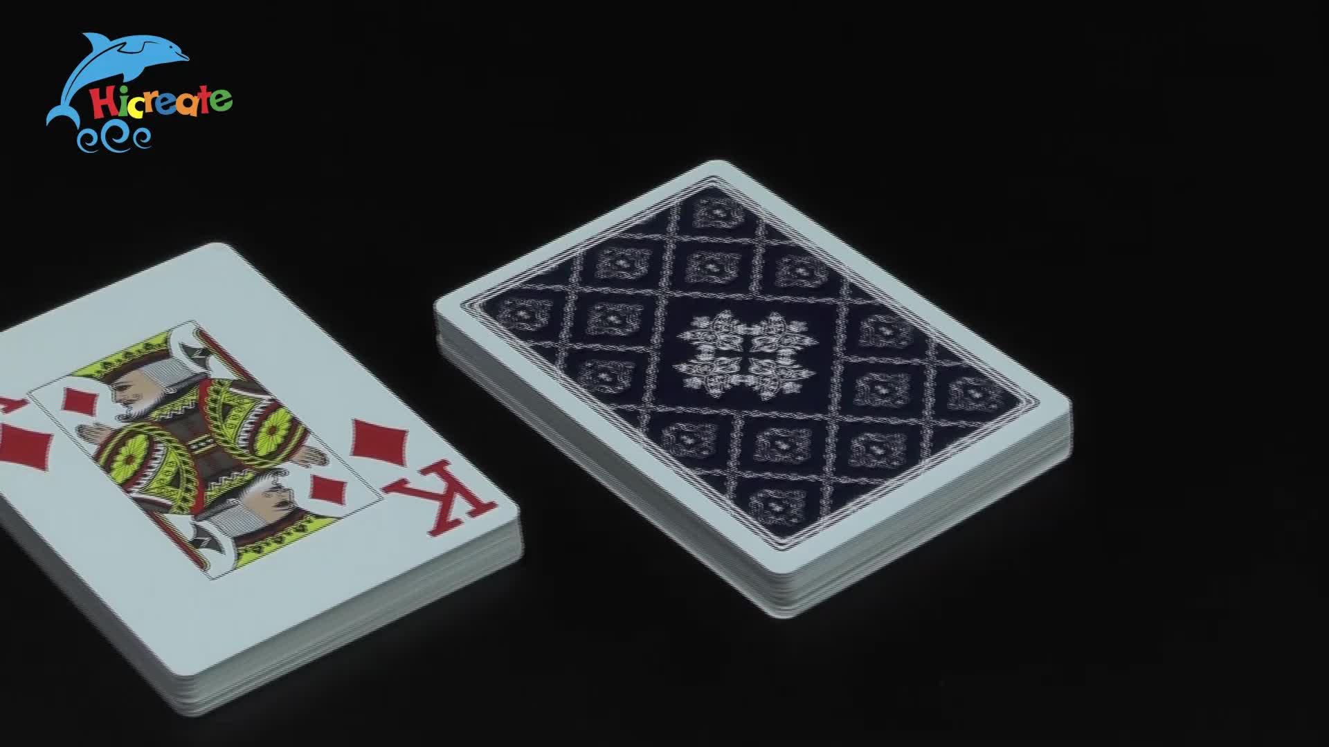 Custom goedkope plastic speelkaarten plastic game card pokemon trading speelkaarten