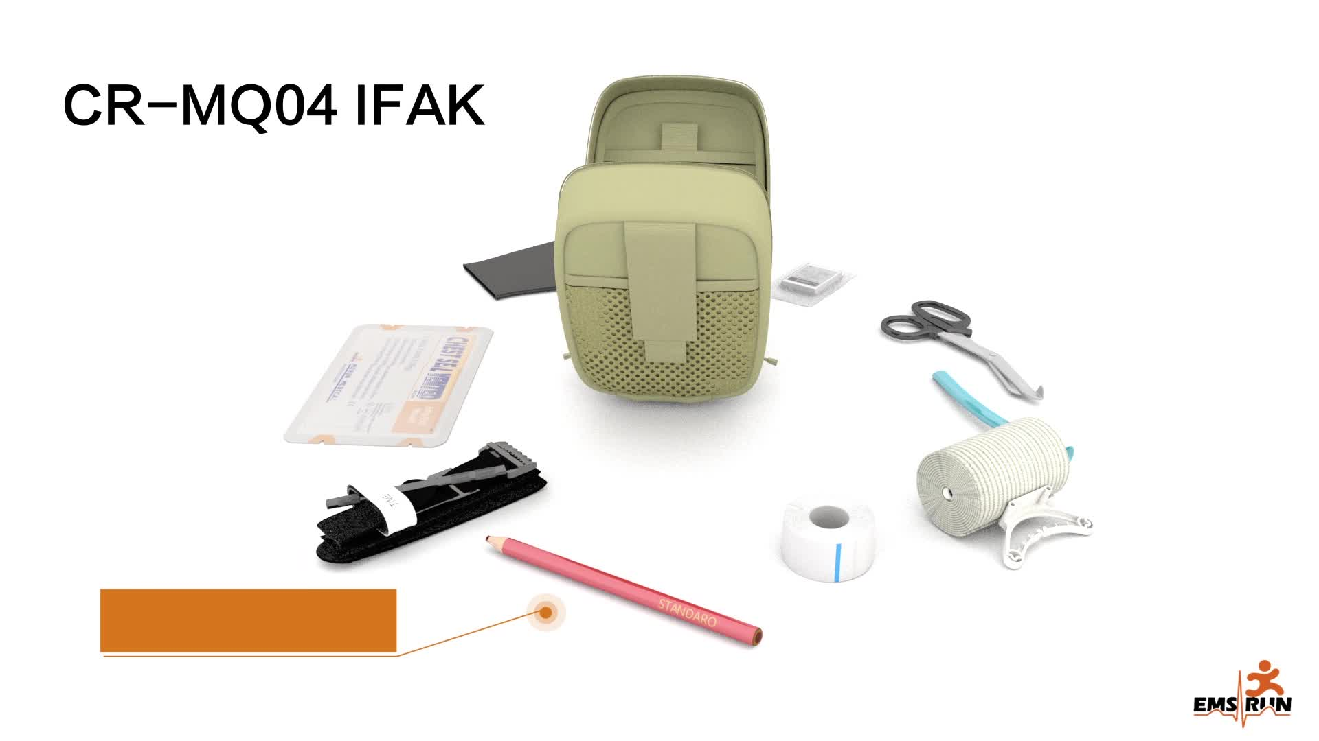 Medical First Aid Kit Back Pack all'ingrosso medica militare zaino
