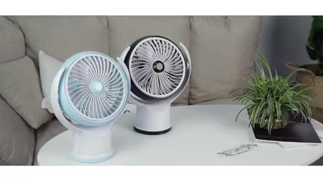 2019 usb fan mini fan with light battery handheld fan