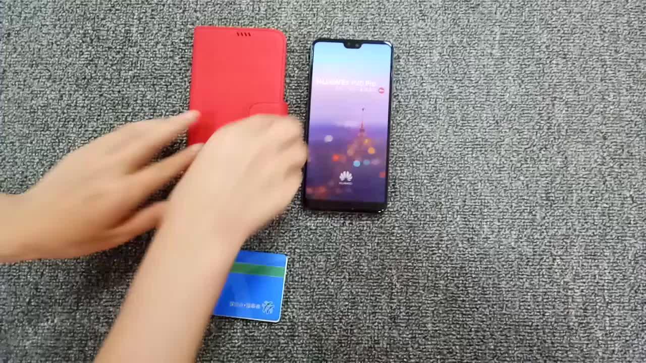 הכי חדש מוצרי smartphone מקרה עבור huawei p20 חזרה ארנק טלפון כיסוי