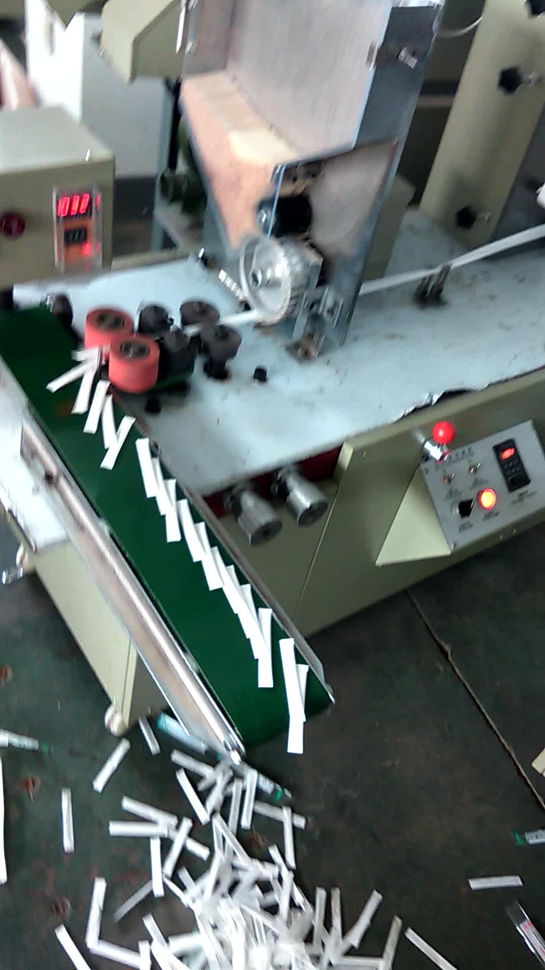 Automatische Zahnstocher-Papierverpackungsmaschine mit hoher Verpackungsgeschwindigkeit!