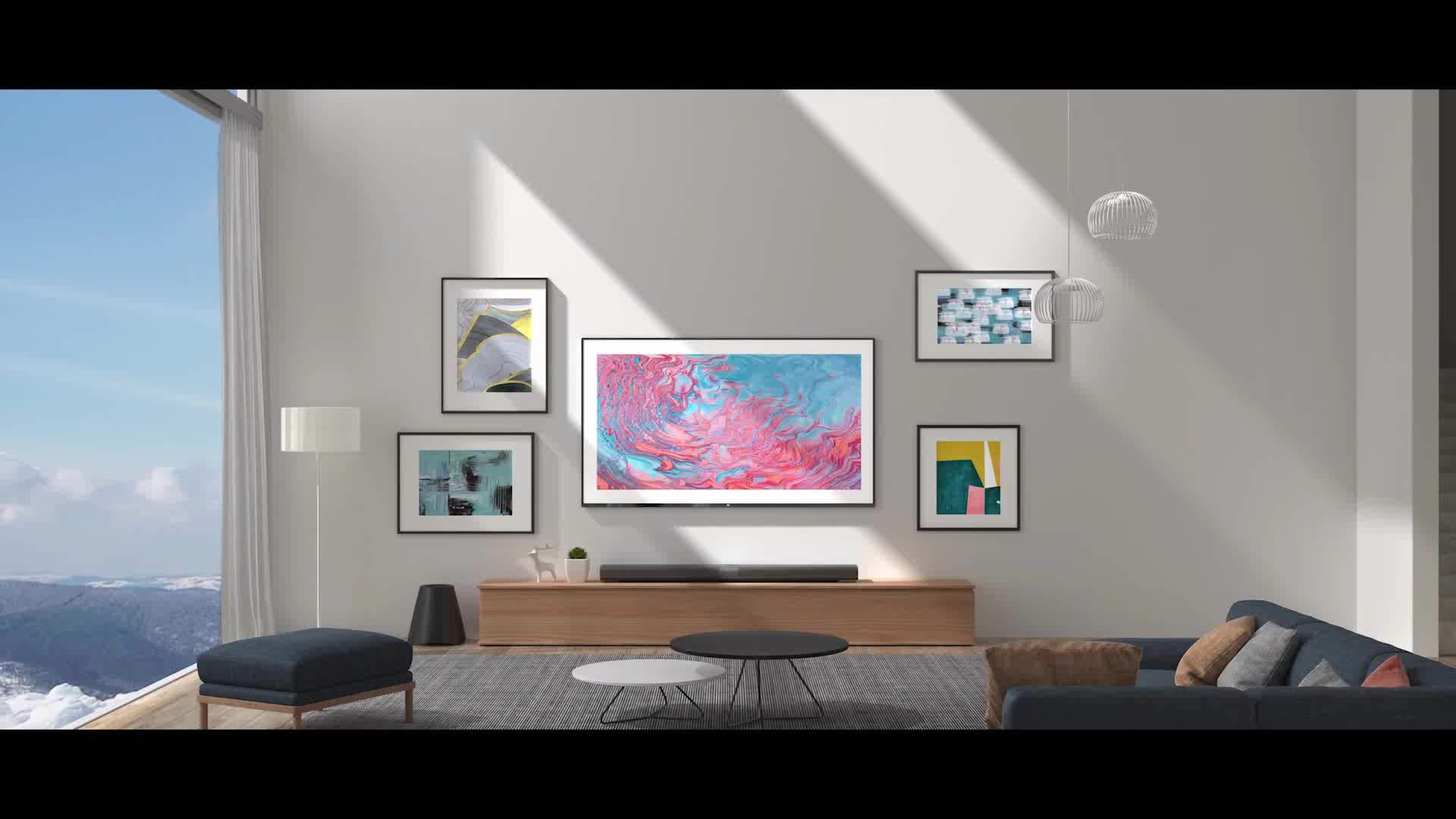Original Xiaomi Mi Mural TV 65'' With Subwoofer Full HD Android TV 4K HDR Ultra Thin 65 Inch Xiaomi Smart Television