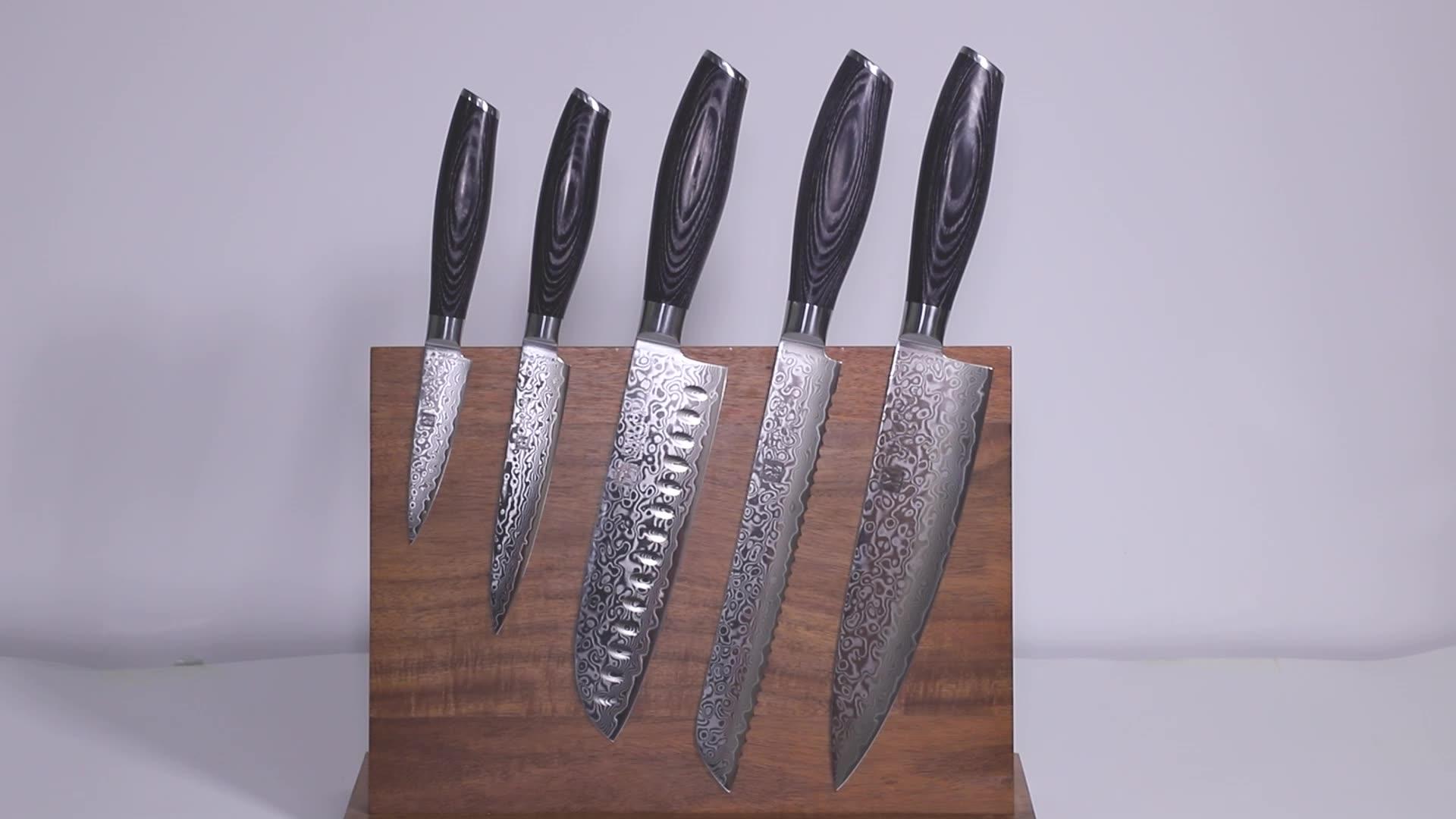 3.5inch Japanese Damascus steel paring kitchen knife