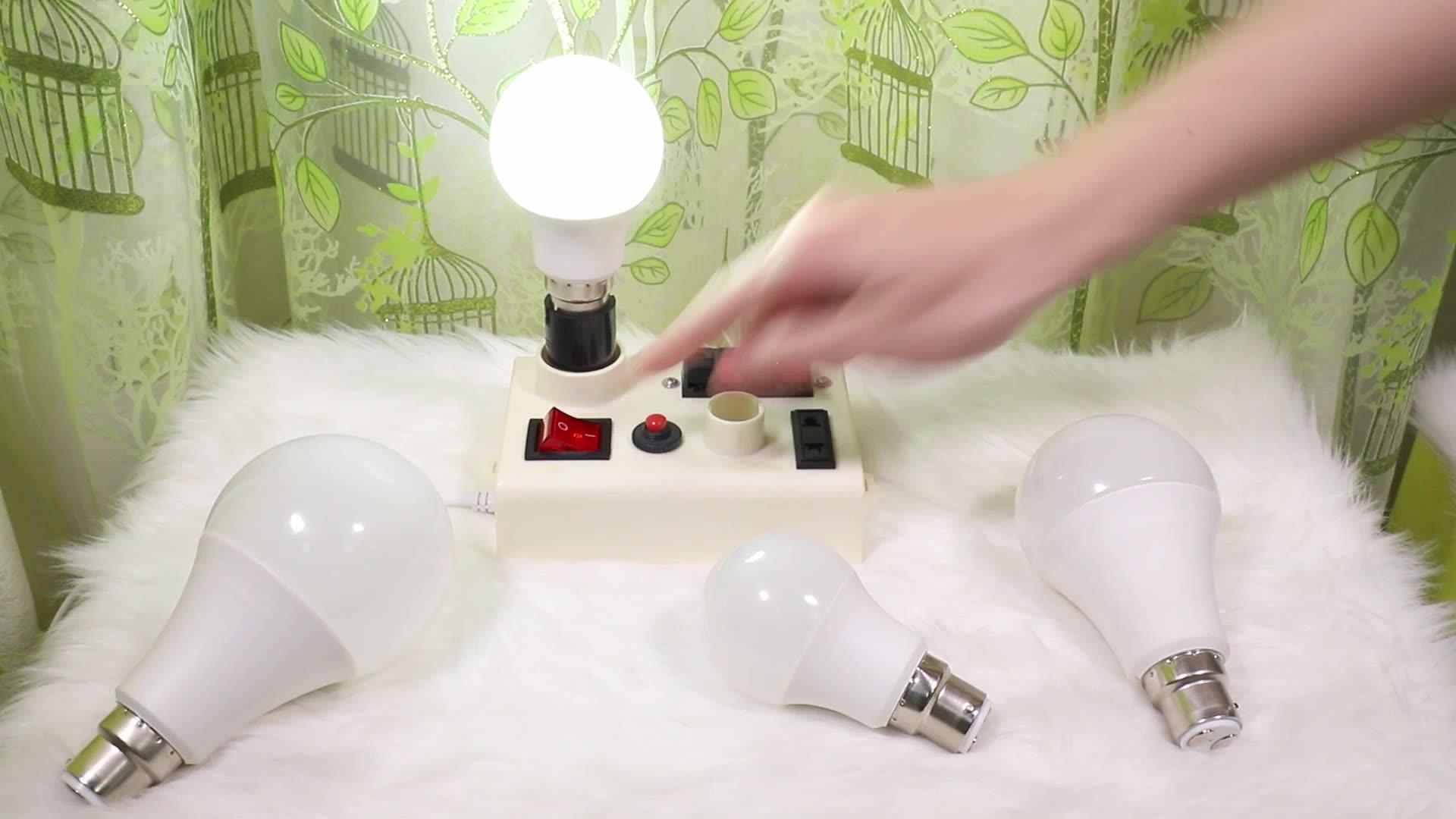 BIS אישור CE מקורה 5w 7w 9w 12w 15w 18w E27 B22 הנורה led אור