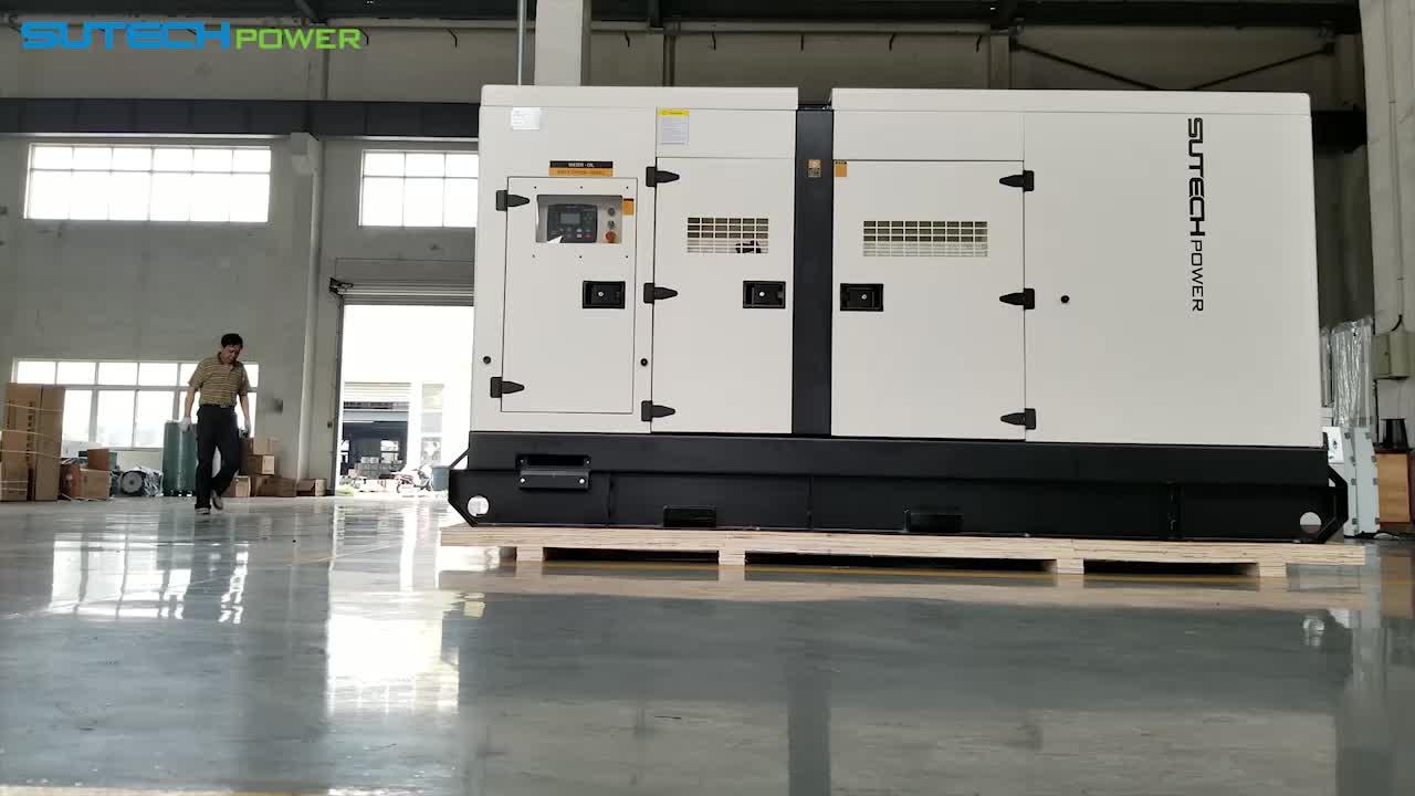 Denyo silent electric generator 225kva diesel generator price with Cummins engine 6CTAA8.3-G2