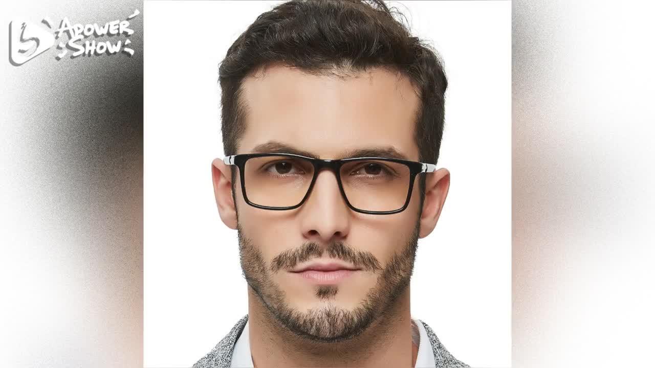 Temizle toptan reçete plastik bilgisayar son optik özel anti mavi ışık çin ucuz erkek tasarımcı çerçeveleri gözlük