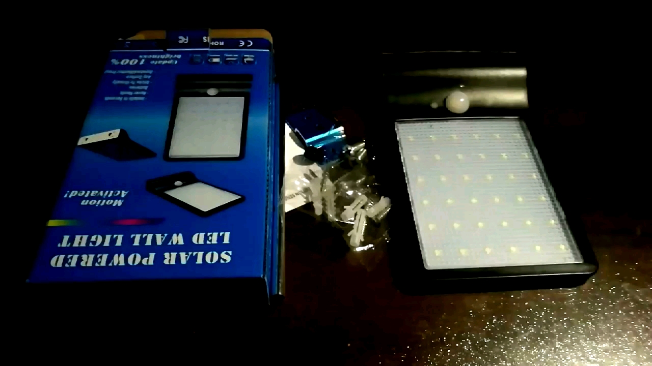 Solar Lights Outdoor With Motion Sensor 36 led 450LM Light With Mounting Pole IP65 Waterproof  solar decoration light