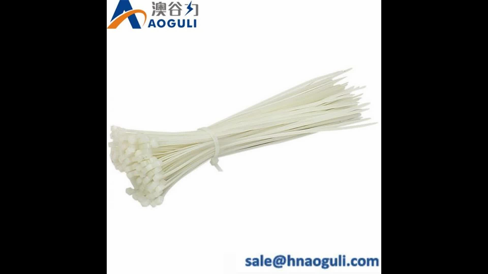 hot sale plastic kss cable ties/hook and loop cable ties customized/china supplier cable tie