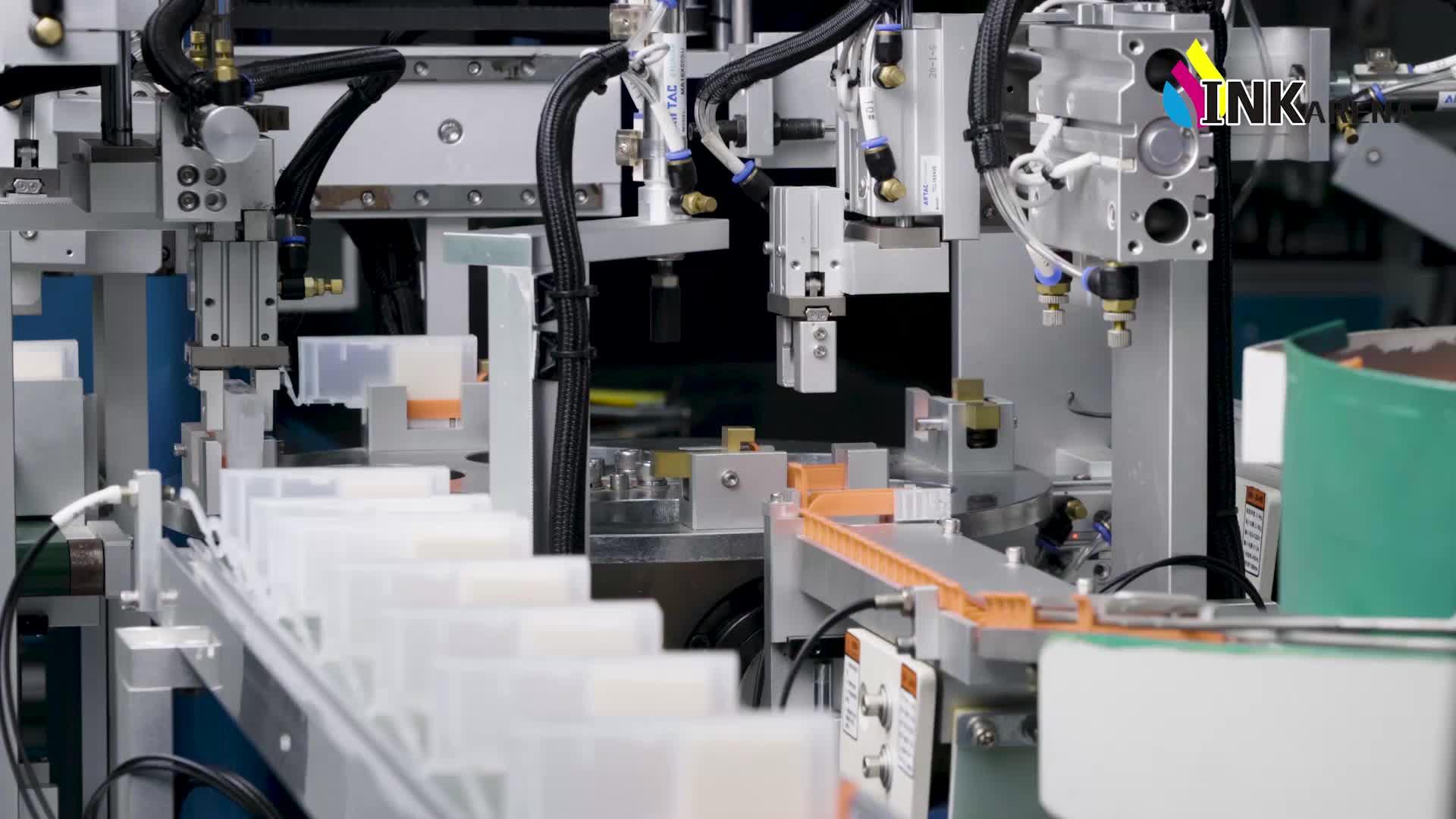 INKARENA Substituição Do Cartucho de tinta Recarregáveis Para HP 564 Recarga 3070A Deskjet 3520 Impressora Jato de tinta