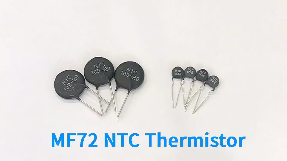 Low price thermistor types power thermistor ntc 5d-11 MF72 small electronic components