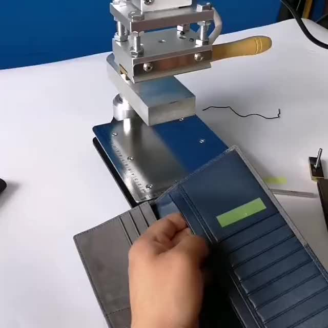 Machine Stamping Hot For Foil Printing Pencil Leather Shoes Wedding Invitation Card Embossing Paper Digital Cosmetic Letters