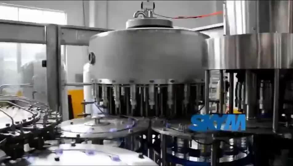 3 in 1 Soda Drink / Carbonated Water Filling Making Machine