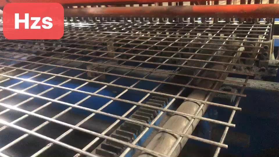 काले और जस्ती बाड़ पैनलों के लिए वेल्डेड तार जाल पैनल