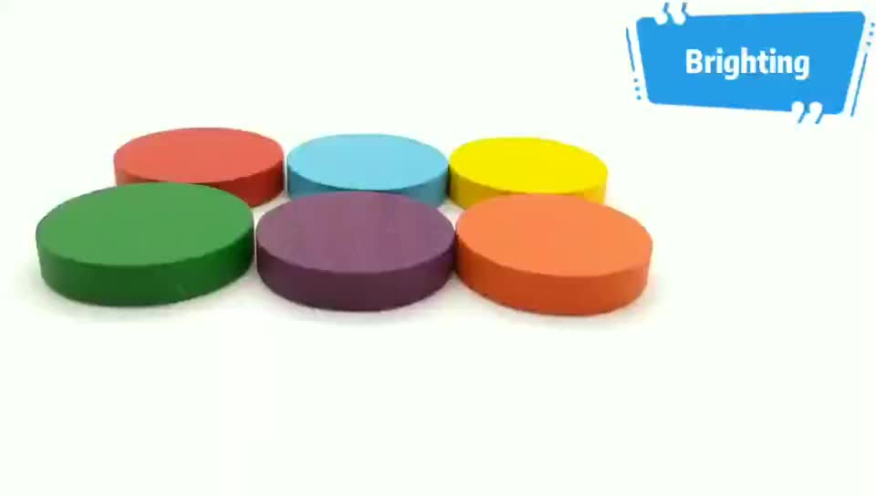 Multicolor Wooden Assorted Meeple For Card Game And Board Game