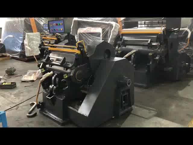 [JT-ML1600] máquina de plegado y plana morir cortador