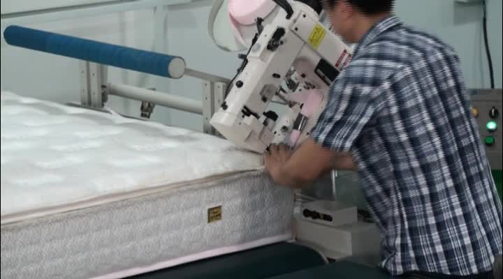 WB-4A Widely Used Automatic Mattress Tape Edge Machine