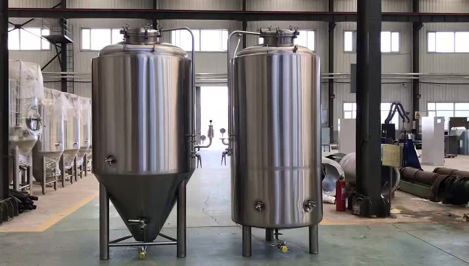 High quality 1000l bright beer tank for beer brewery plant
