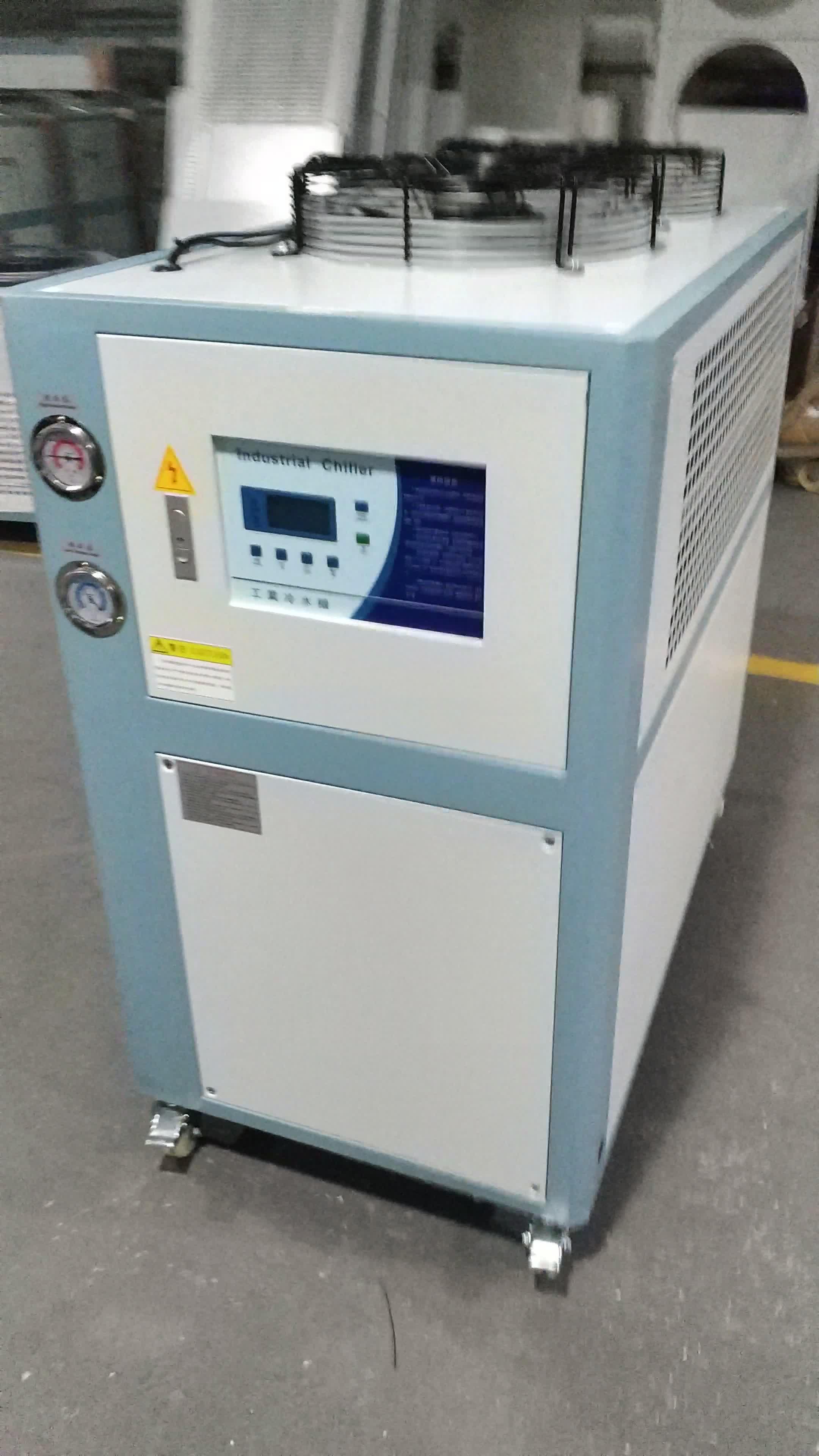 Industriale Raffreddato Ad Aria A Vite di Laboratorio di Circolazione Refrigeratore Prezzo Doppia Compressori