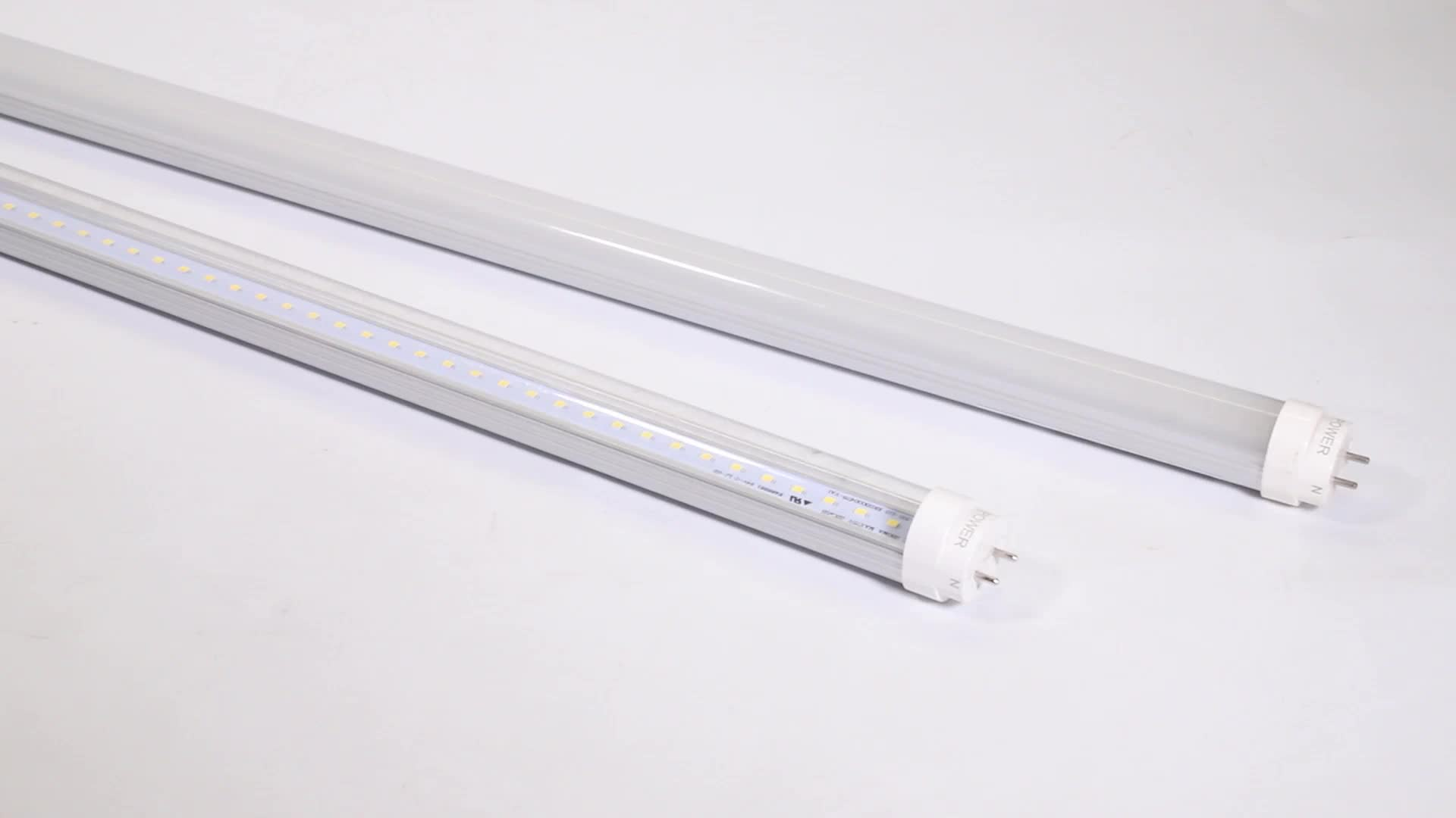 emergency best price 120cm 18w 4 foot 2815 smd chip t8 led tube light for office lighting with TUV C-tick approval
