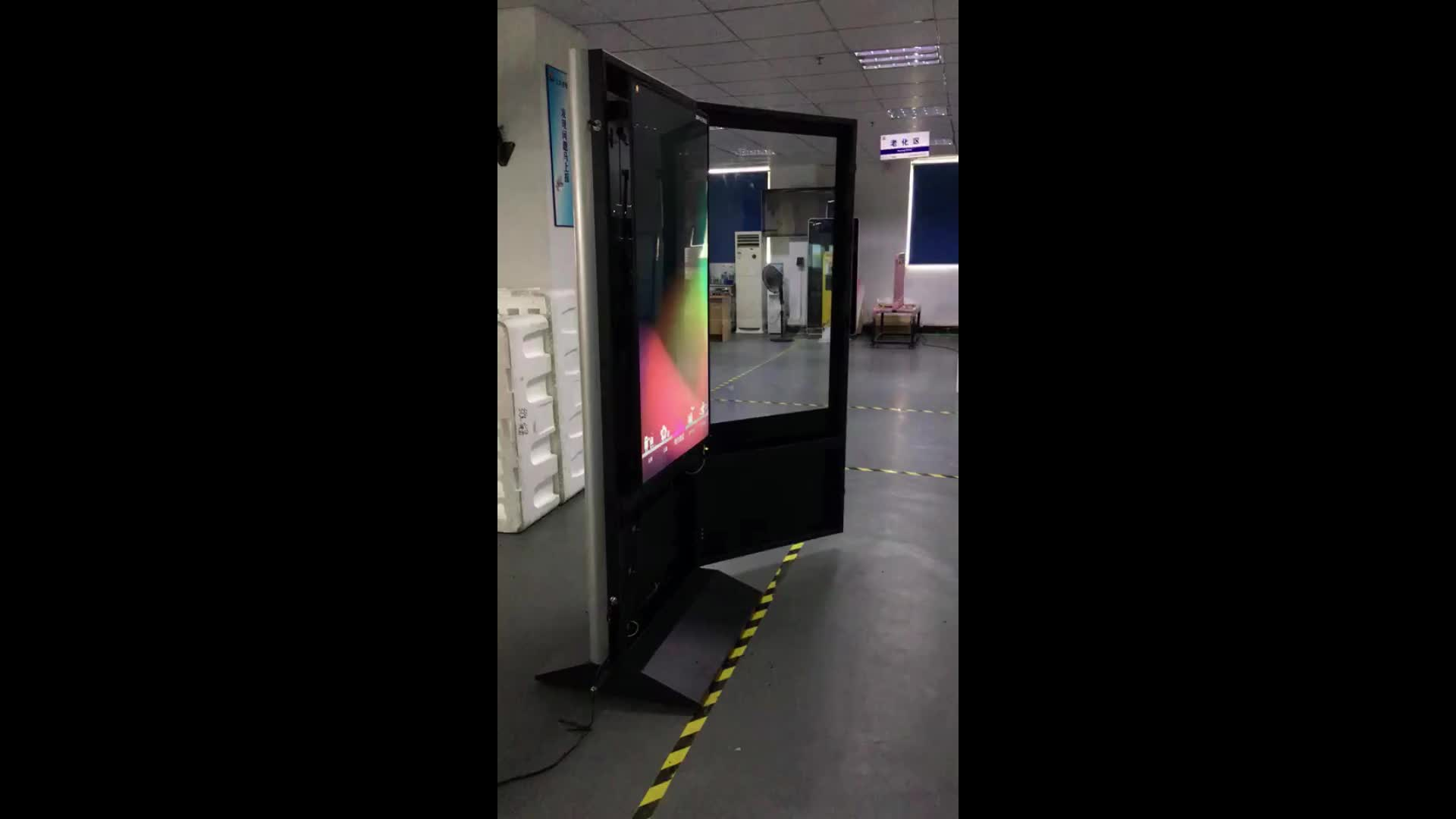 Tyalux 49 Inch Lcd Totem Kiosk Display Vertical Digital Signage