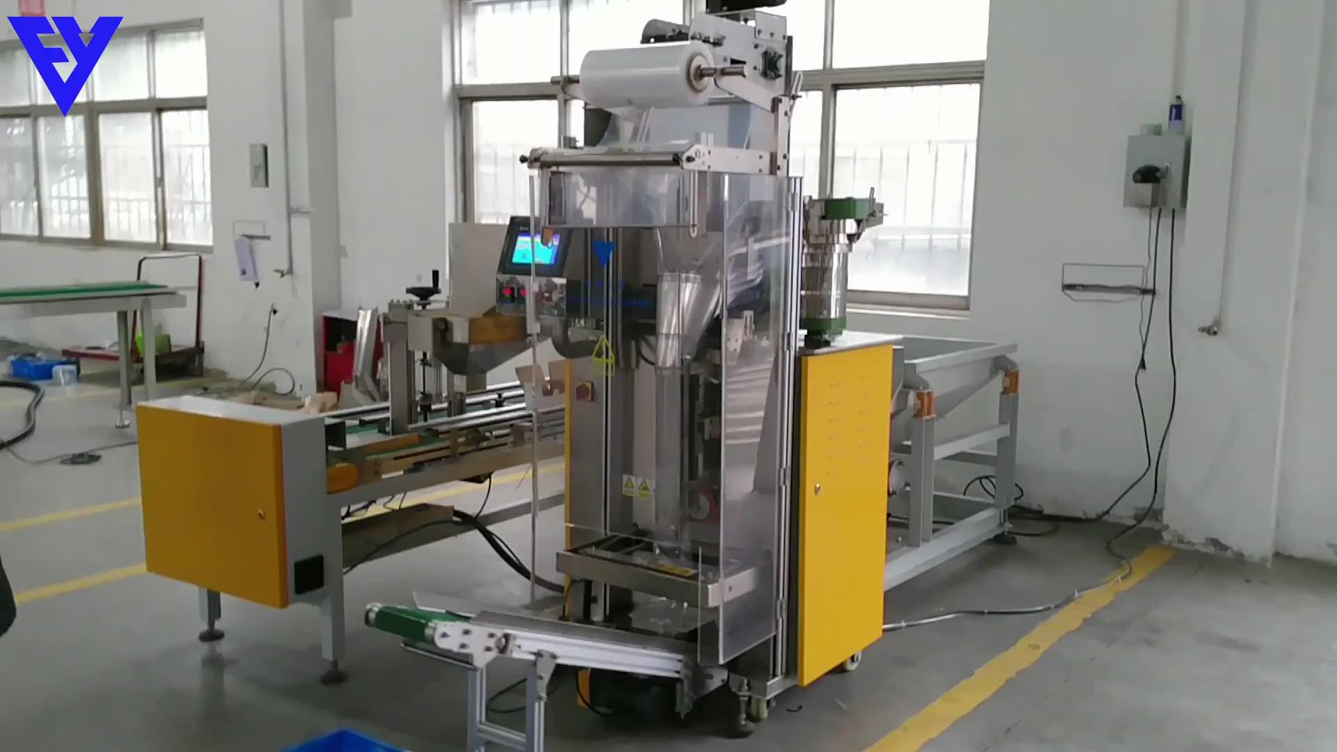 Multi-función de tornillo de fijación peso contando máquina de embalaje