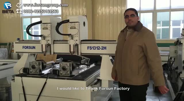 30% discount FORSUN CNC  cnc aluminium router engraving machine 1325 4 axis