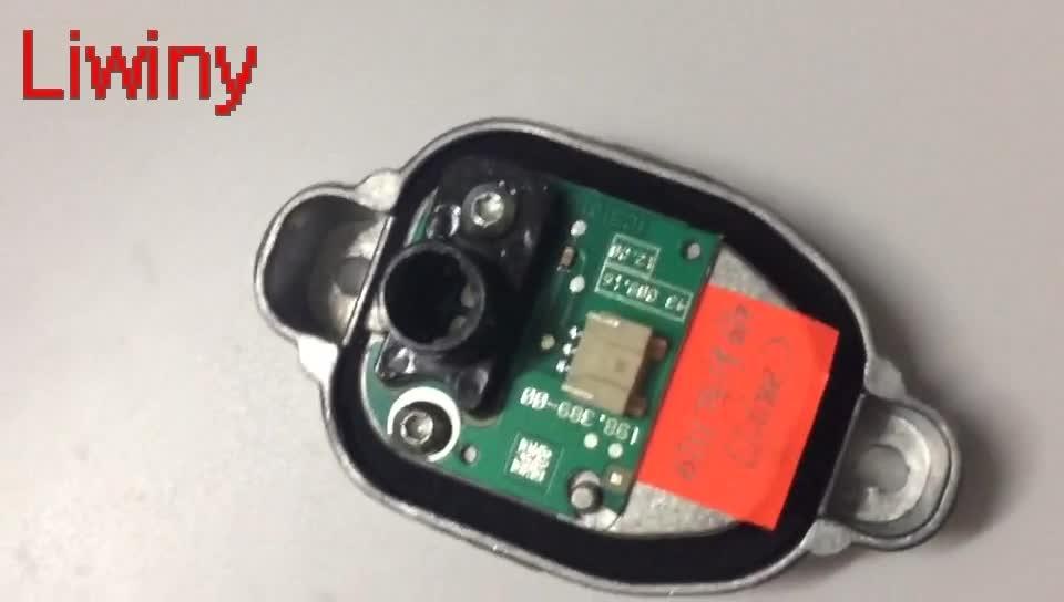 Liwiny New Mặt Trận LED Đèn Pha Module Cho F35 OEM 63117419610 3 Dòng LED chuyển ánh sáng