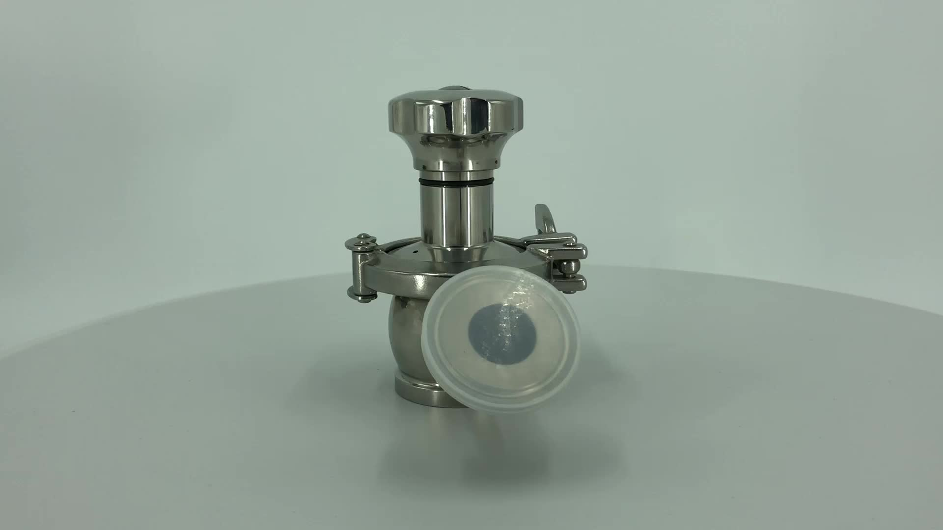 DONJOY Food Grade tank bottom diaphragm valve stainless steel 316L EPDM manual diaphragm control valve
