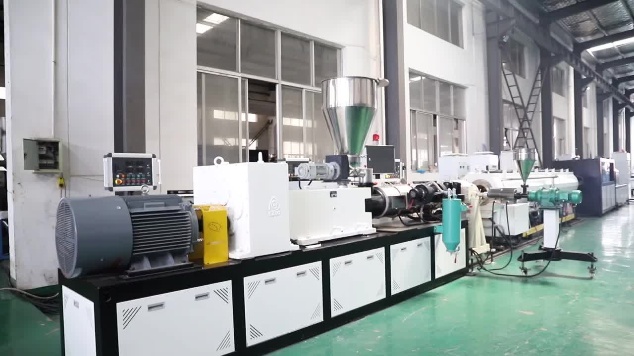 CPVC / UPVC / PVC pipe extrusion production machine line with factory price