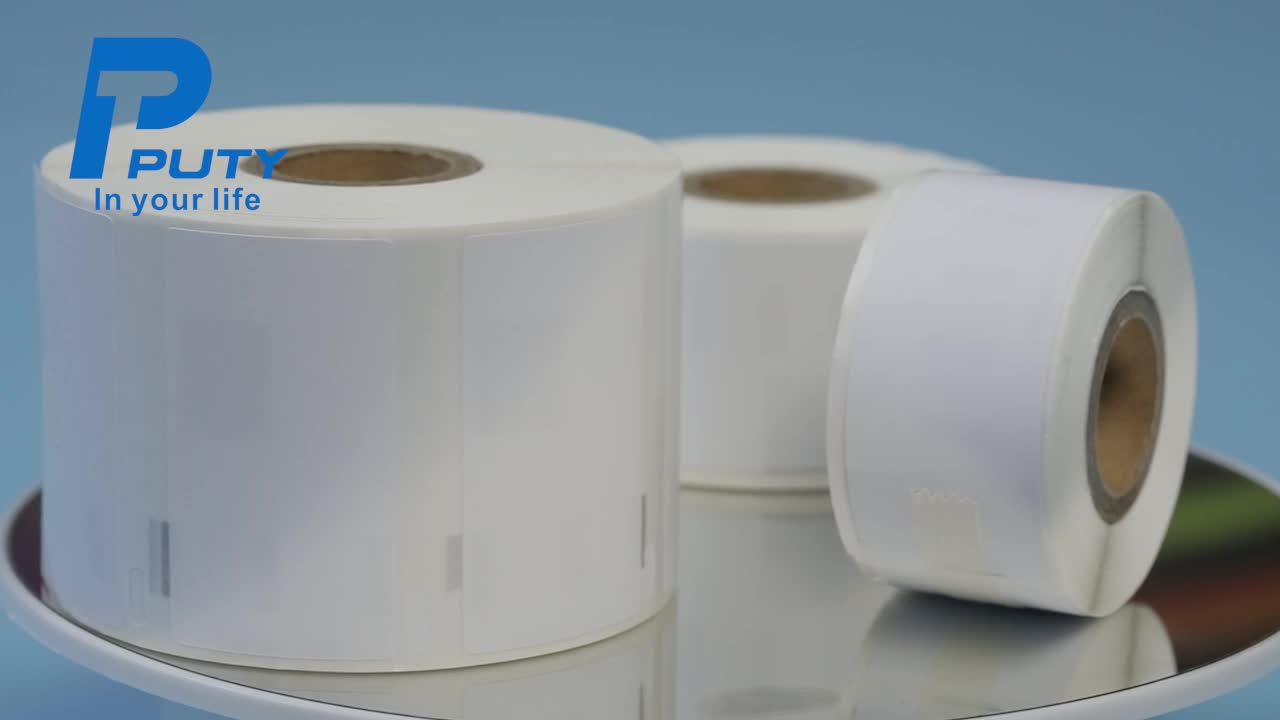 PUTY compatible dymo tape label thermal roll of label paper