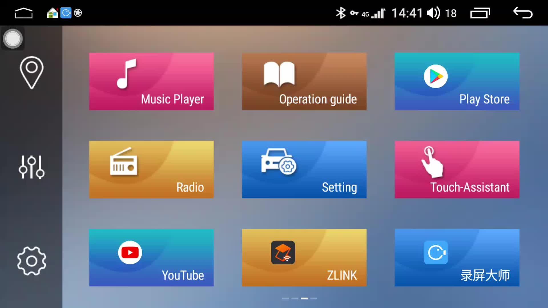 IOKONE OEM Android 9.0 Sistema di Supporto DVB + ADAS 9 pollici 2 Din Car Stereo Audio Cina Per JAC J3