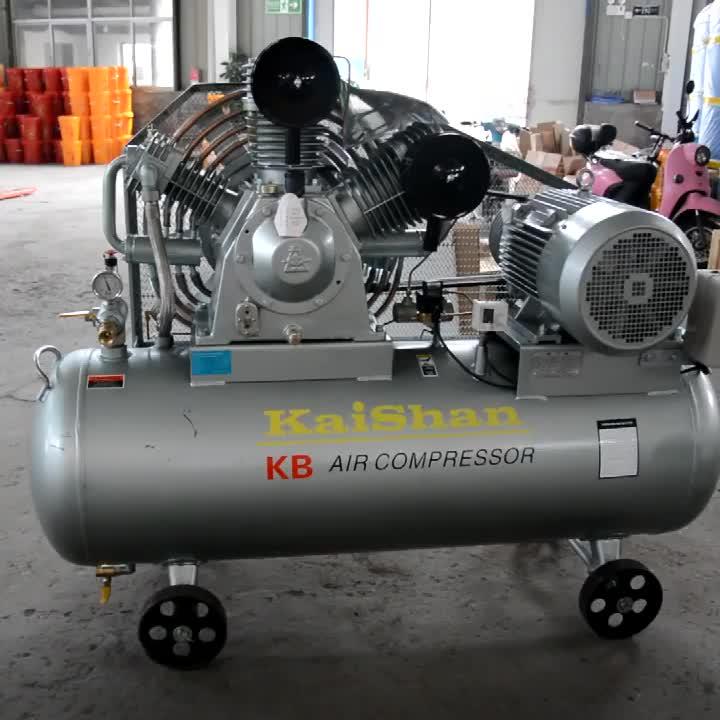 Kaishan KB15 de alta presión 30 bar 15kw 20hp bajo ruido uso industrial Etapa 2 botella de PET botella de la máquina de soplado de aire de pistón compresor