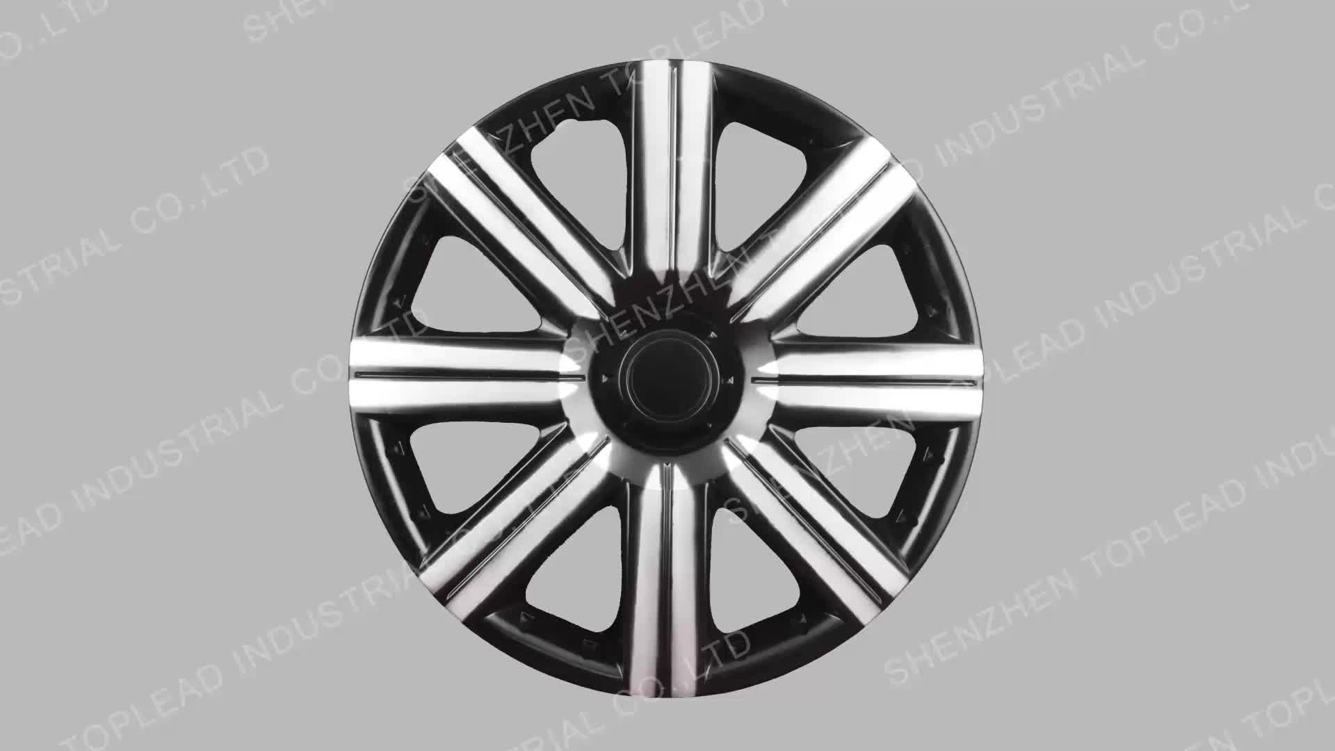 """Colorful Neon 12""""13""""14""""15"""" Car Wheel Center Hubcap for Universal"""