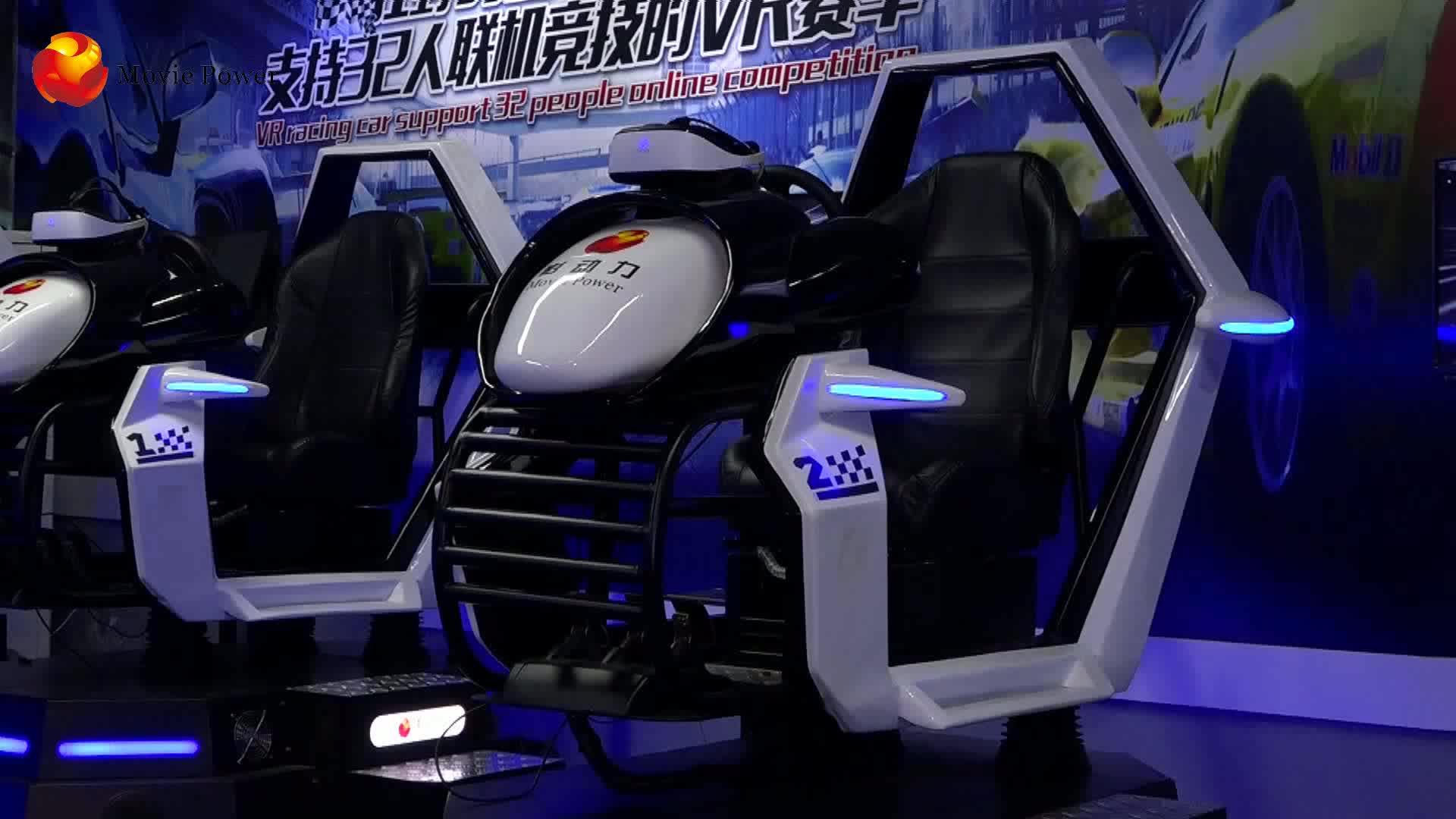 Vui Chơi Giải Trí Công Viên Mô Phỏng Rides VR Racing Simulator Arcade Xe Lái Xe Thực Tế Ảo Chuyển Động Mô Phỏng Xe Lái Xe Mô Phỏng