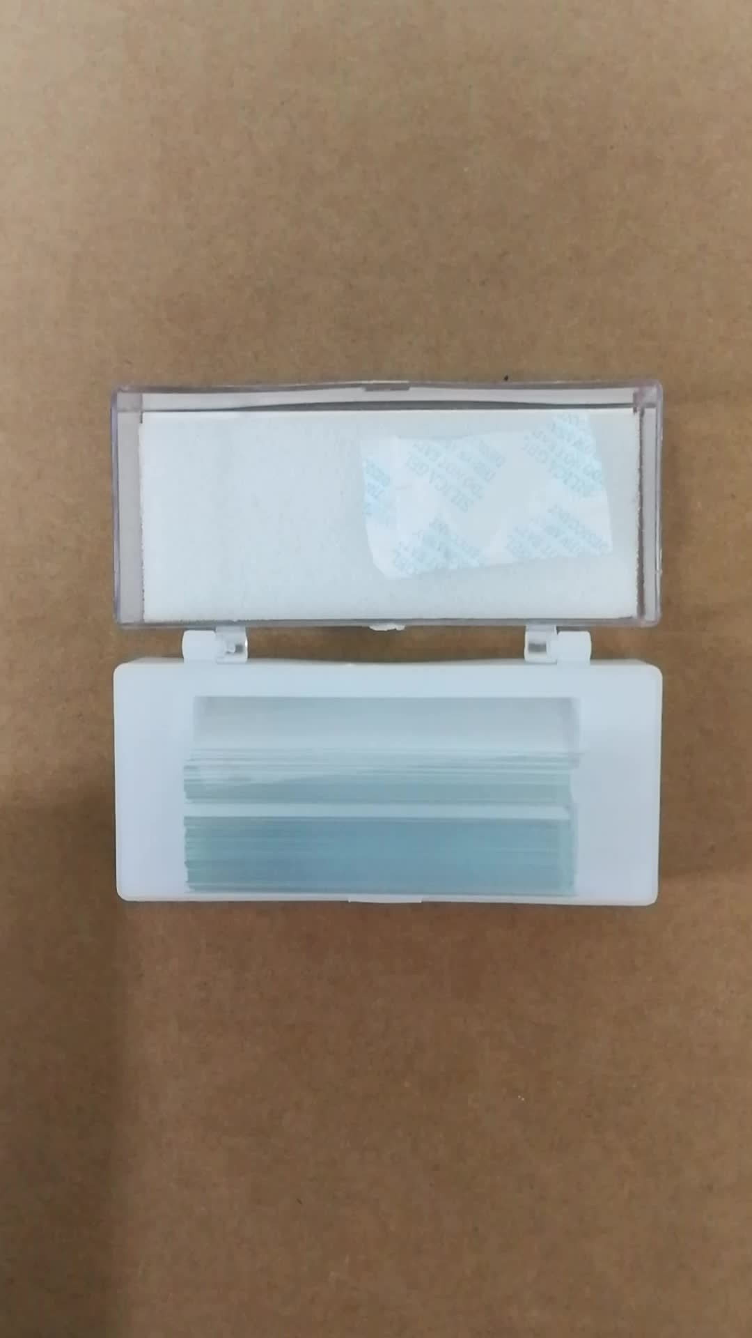 Frosted Microscope Glass Slides Medical Lab Disposable Microscope Slide