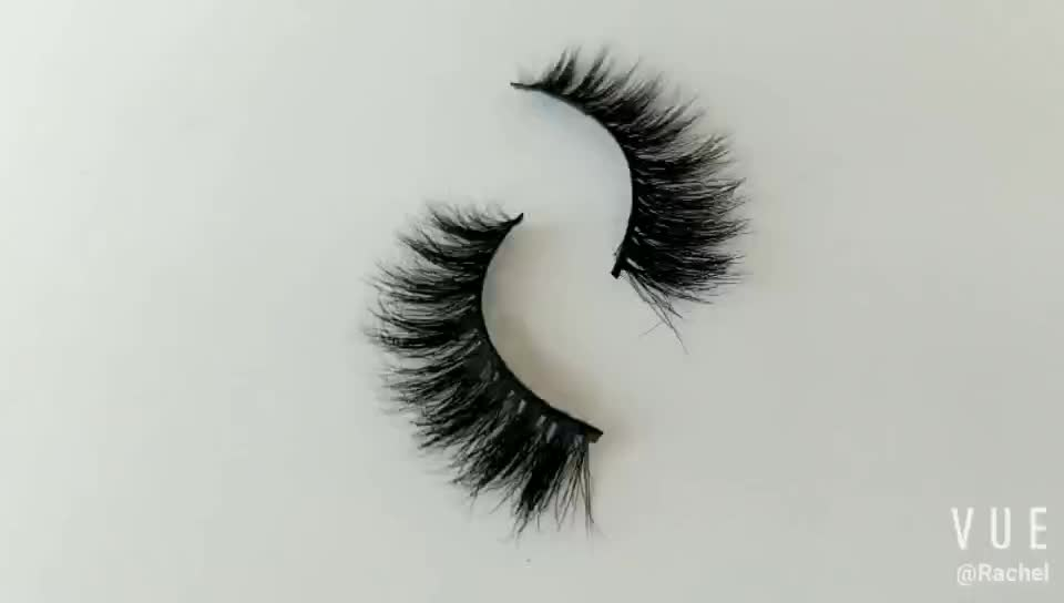 China Supplier Sales Free Samples Professional Human Hair Fake Eyelashes 3D