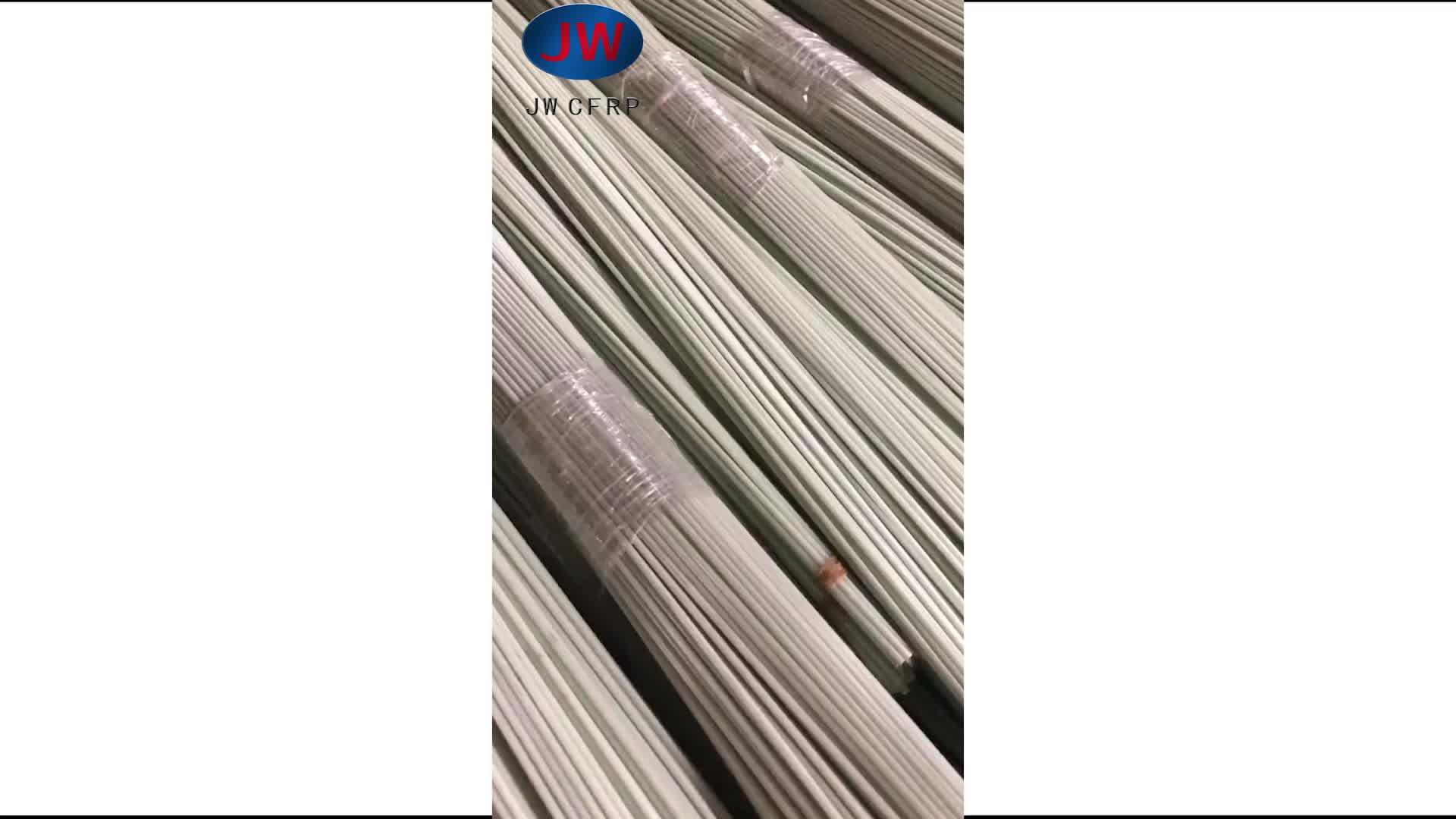 Polyester Voile de Surface Traitement de Surface de Tige En Fiber De Verre