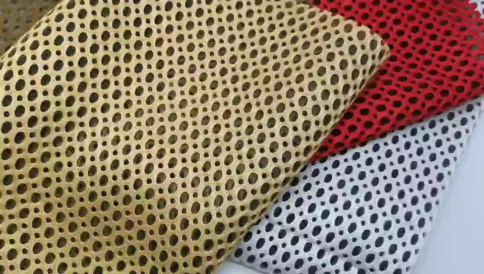 polyester 3d air mesh fabric Home Textile Felt Curtain Bag Suit Bedding Pillow Use and Printed Pattern fabric mattress fabric