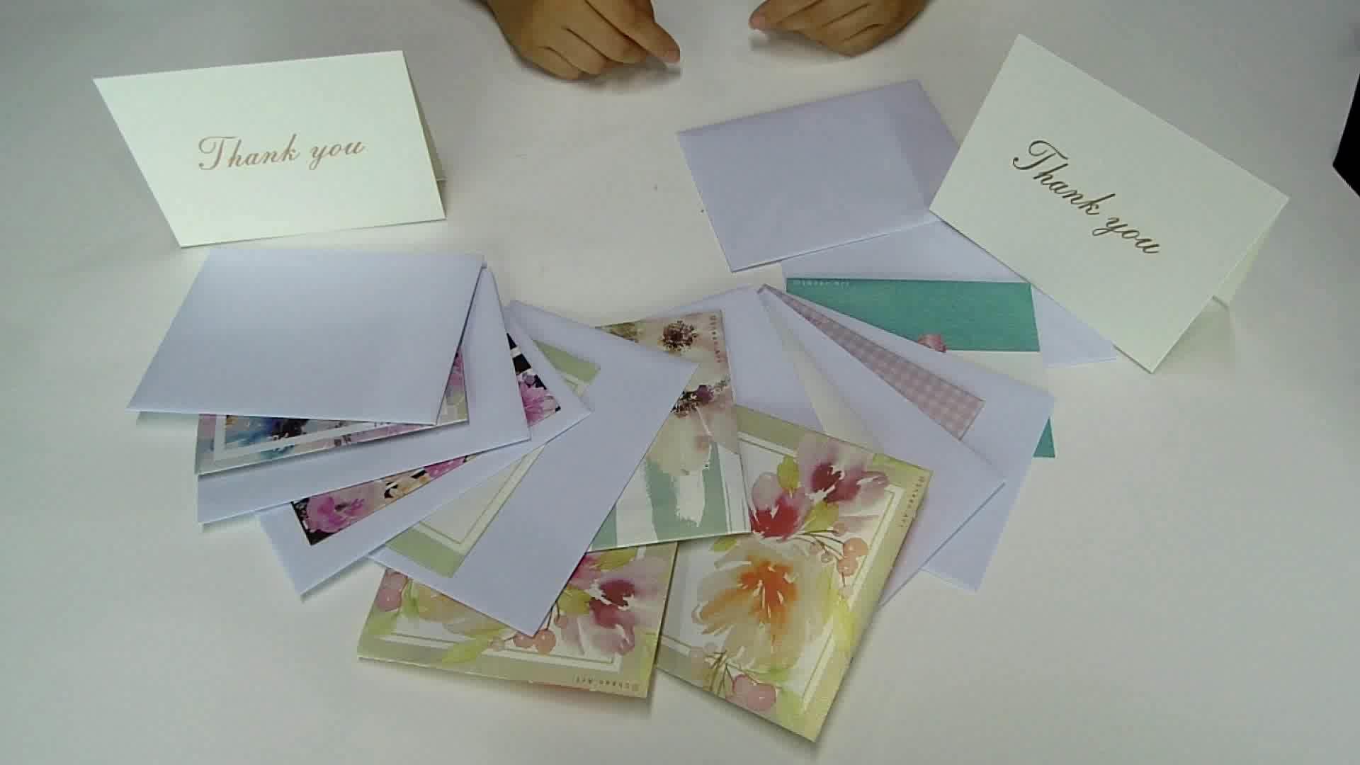 Akzeptieren Sie benutzerdefinierte leere transluzente Geschenk / Plakat Karte Umschlag