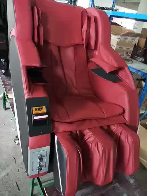 New Design 4D Vending Bill Operated Vending Massage Chair