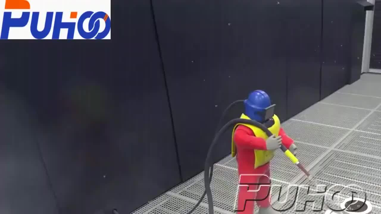 China Sandblasting Chamber for Large Structures Rust Removal