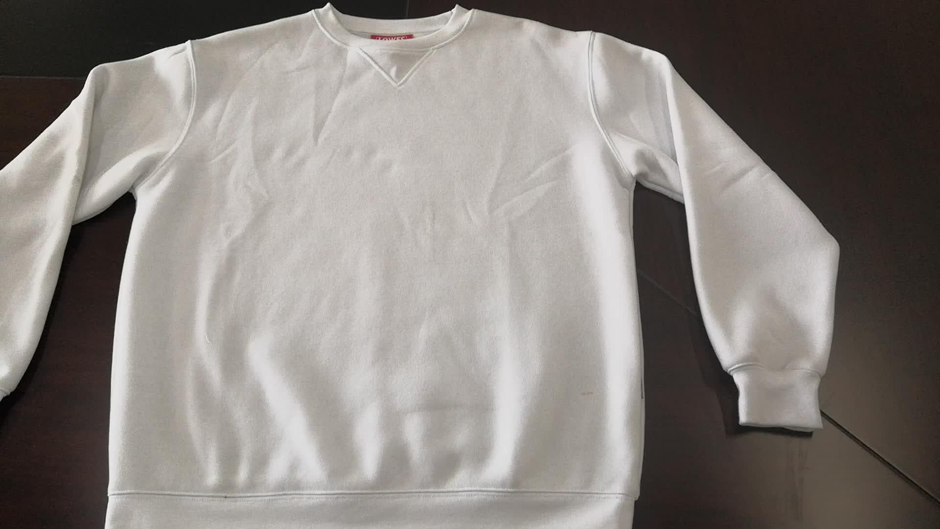 En gros logo personnalisé Mode sweat hommes Usine Vente sweat-shirt personnalisé