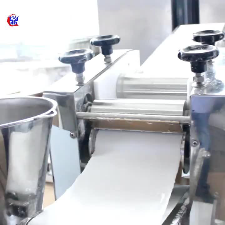 Anko scale making filling fried gyoza making machine