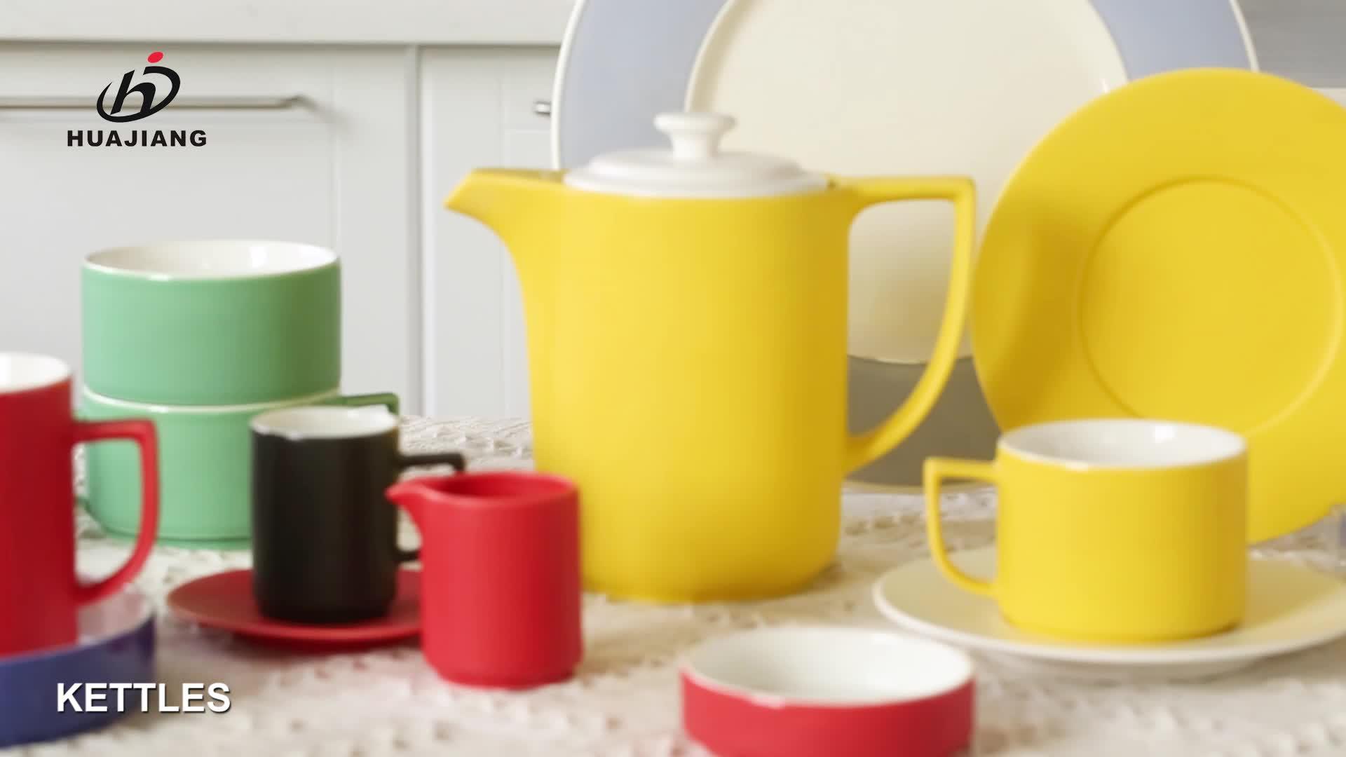 Phong cách ngắn gọn số lượng lớn tùy chỉnh biểu tượng màu đỏ sứ latte cà phê trà cup đối với trang chủ
