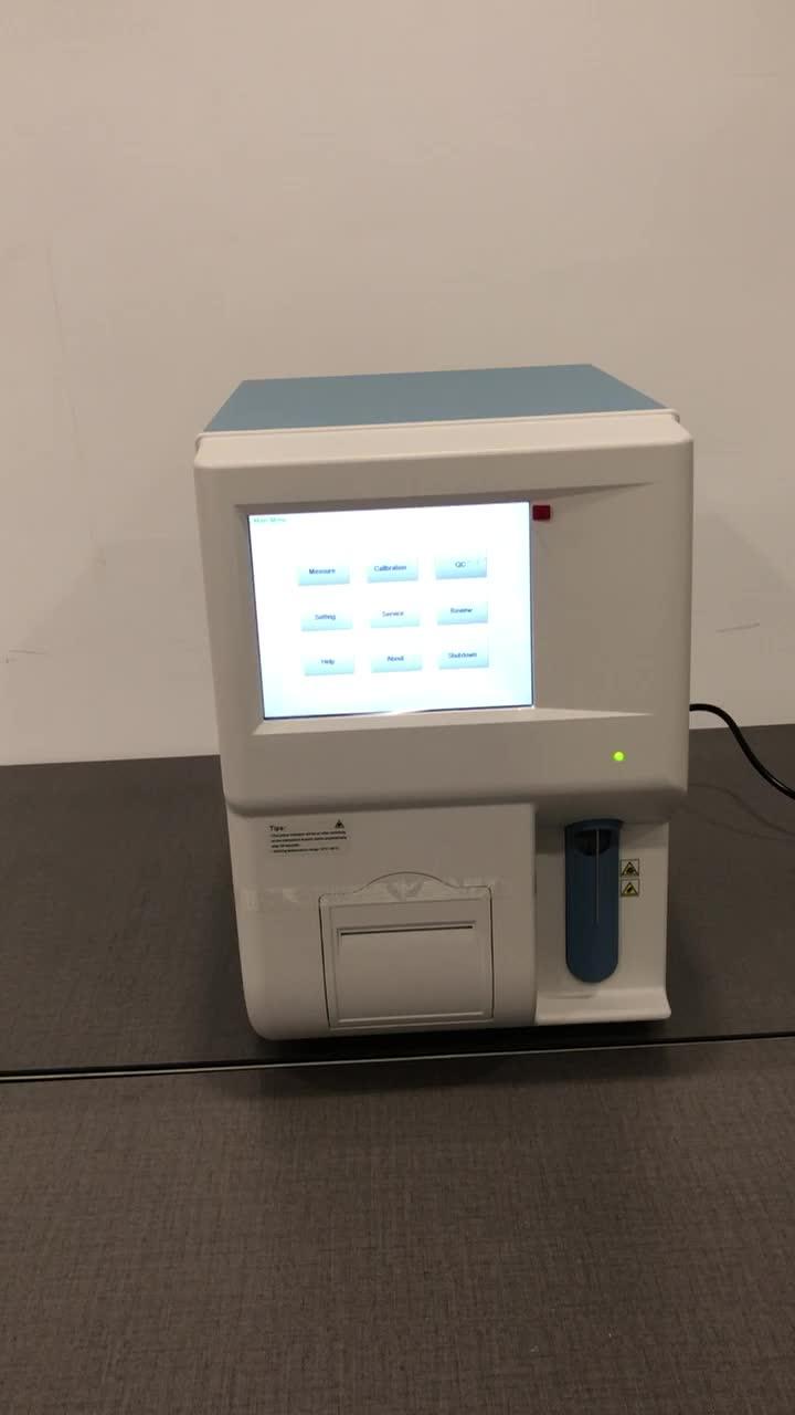 Analizador hematológico automático veterinario 5 piezas abx micros 60 auto mindray sysmex precio