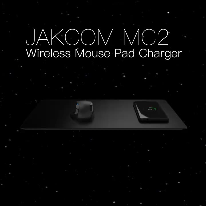 JAKCOM MC2 Wireless Mouse Pad Charger New Product of Chargers 2020 as 6v usb charger rivers chargers 5a pd c qc 36w 61w