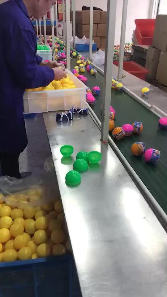热卖迷你塑料小便宜惊喜蛋胶囊玩具为孩子 TPR 球自动售货机胶囊玩具
